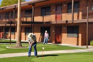 Rekreasjon aktiviteter for pensjonister