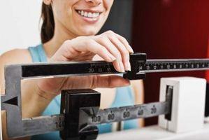 Å miste vekt Stadig