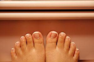 Naturlig behandling for tørr Foot Skin