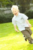 Liste over utviklingsmessig passende kroppsøving Practices for barn