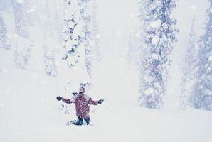Hvordan varme i en Blizzard