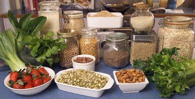 Typer næringsstoffer og vitaminer