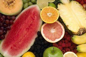 Hvordan å miste vekt ved å spise frukt