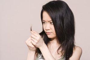 Medisinske årsaker til slitt hår