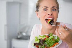 Hva er den ernæringsmessige verdien av salat?