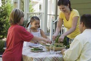 Hvordan Forklar barna viktigheten av ernæring