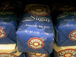 Hva er den kjemiske sammensetningen av sukker?