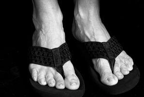 Behandlinger for Sprukne hæler og Foot Hard hud