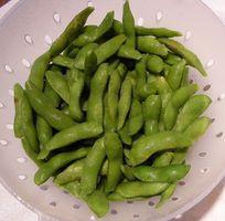 Næringsstoffer i Tørkede soyabønner