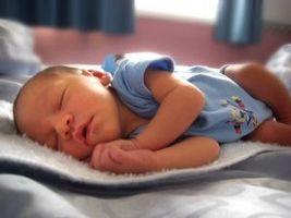 Uregelmessig pust i babyer