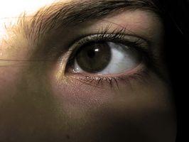 Forskjeller mellom øyet og en Pin Hole Camera