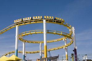 Hvordan stoppe magesmerter Fra Roller Coasters