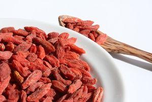 Goji bær for muskelvekst