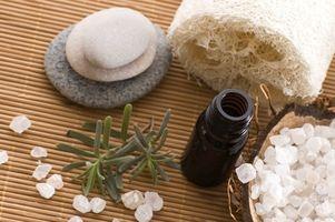 Hjemmelaget Aromaterapi Scent inhalator