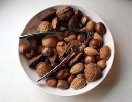 Ernæring sammenligning: Nøtter