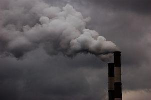 Hva er noen negative effektene av luftforurensning?