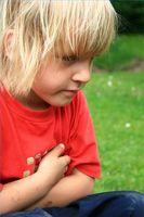 Magesmerter hos barn
