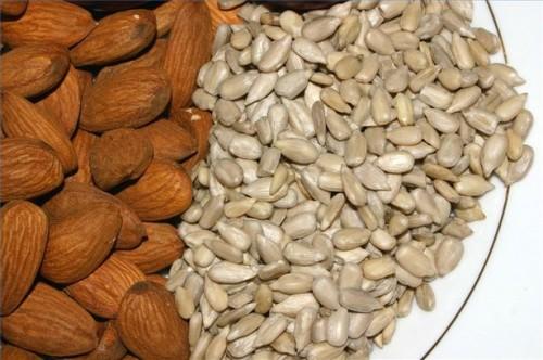 Matvarer med vitamin E