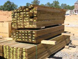 Avhending av ACQ Behandlet Wood