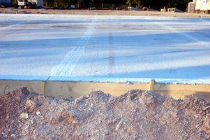 Hvordan behandle en Cement Burn