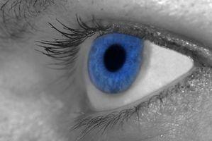 Om øyedråper som endrer fargen på øynene