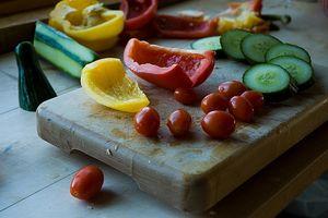 Hårtap skyldes Going Vegetarisk