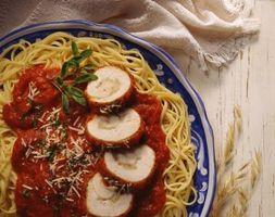 Ernæringsmessige fakta av Classico Spaghetti Sauser