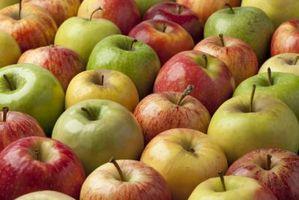 Hva er den ernæringsmessige verdien av en Apple?