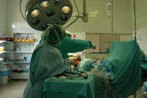 Type av kirurgiske instrumenter Brukes av en ortopedisk kirurg