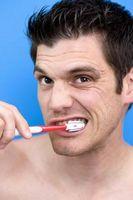 Tegn og symptomer på Tannbørste Slite