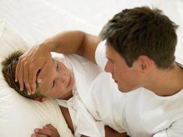 Tegn og symptomer hos små barn med hiv