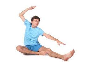 Slik starter yoga som en Mann Beginner