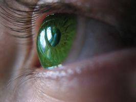 Hva er gjennomsnittlig Eye måling for kontaktlinser?