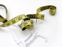 Hvordan bruke Calipers fastslår kroppsfettprosent