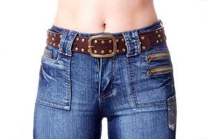 Hvordan å miste Belly Skin
