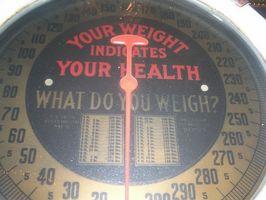 Prosessen med å miste vekt