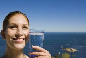 Destillert vann og vekttap
