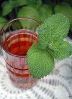Helsemessige fordeler usøtet Iced Tea