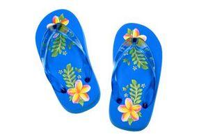 Farer ved Flip-flop sko