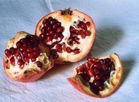 Hva Næringsstoffer Må Granatepler inneholder?