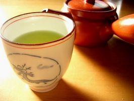 Hvordan lage grønn te nyttig for vekttap