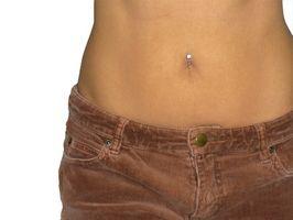 Hvordan å miste vekt på Tummy med hjem rettsmidler