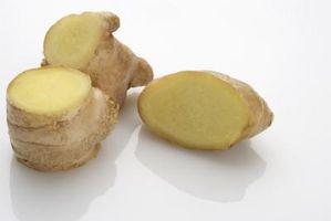 Hvordan bruke Ginger å rense innsiden av kroppen