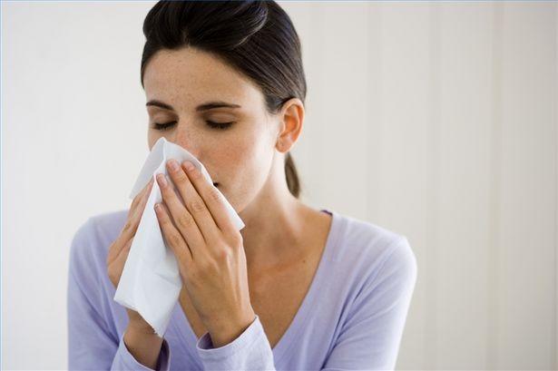 klor allergi test