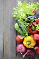 Er det grønnsaker som brenne fett?