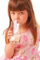 Hvordan er Milk Omregnet til melkepulver?