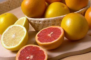 Sitrusfrukter som inneholder naringenin Compound