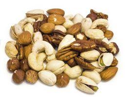 Hvilke makronæringsstoffer Do nøtter inneholder?