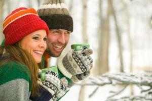 Hvordan å gjøre deg varm når du fryser