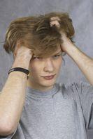 Årsaker til sår hodebunn